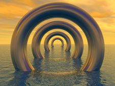 Free Torus Royalty Free Stock Photo - 4997255
