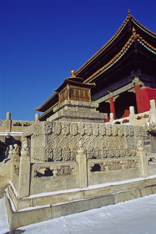 Free The Forbidden City Royalty Free Stock Image - 4997296