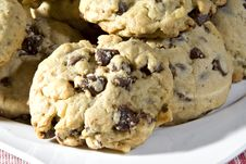 Free Chocolate Chip Cookies Royalty Free Stock Photo - 4997415
