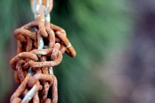 Free Rusty Old Chain Royalty Free Stock Photos - 4997888