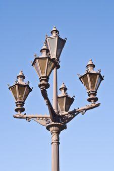 Free Retro-style Street Lamp Stock Image - 4998341