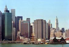 Free Manhattan New York USA Royalty Free Stock Photos - 4998648