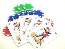 Free Poker Joker Stock Photos - 4998743