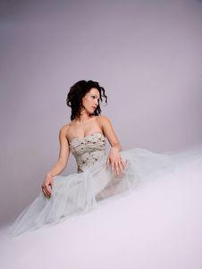 Free Beautiful Woman In Formal Dress Stock Photo - 4999040