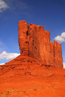 Free Rock Formation Found In Monument Valley Stock Images - 4999354