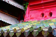 Free Vietnamese Temple Royalty Free Stock Photos - 4999358
