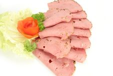Free Delikatessen Chicken Lyoner Royalty Free Stock Image - 4999426