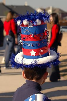 Free Patriotic Hat Royalty Free Stock Photography - 54767