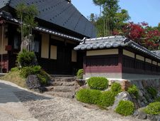 Free Japanese House Royalty Free Stock Images - 54819