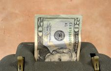 Free Cash Dispenser Royalty Free Stock Photo - 54915