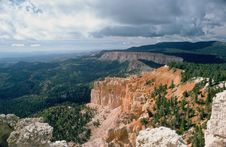 Free Bryce Canyon And Clouds Stock Photo - 55780