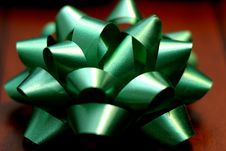 Free Green Bow Stock Photography - 56772
