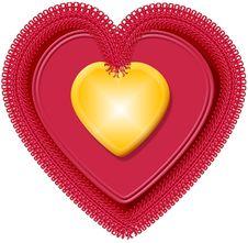 Free Valentine Heart 4 Royalty Free Stock Image - 57996