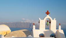 Free Church, Santorini Stock Photo - 500160