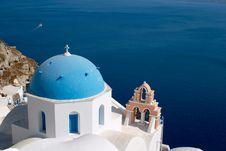 Free Church, Oia, Santorini Stock Photos - 500163