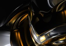 Free Gold&silver Metall 02 Stock Photo - 500320