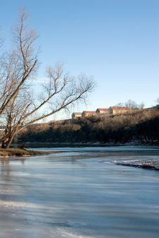 Historic Fort Snelling In Minneapolis, Minnesota Royalty Free Stock Photo