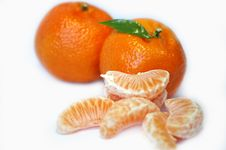 Free Tangerines Royalty Free Stock Photos - 501448