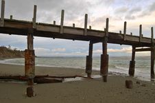 Free Old Pier Royalty Free Stock Photo - 501885