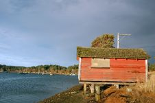 Free Old Shack By The Sea Stock Photos - 501943