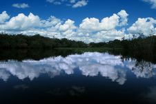Free Clouds And River Stock Photo - 502110