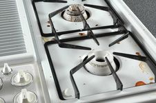Free Dirty Gas Stove Top Stock Photos - 503853