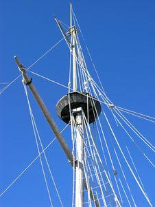 Free Mast Stock Photography - 504062