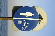 Free Should I Walk Or Should I Bike Stock Image - 504891