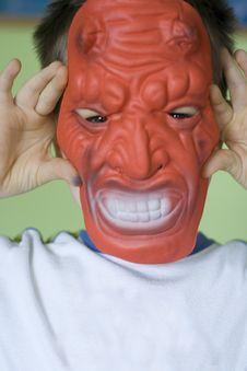 I Am Devil Stock Photo