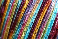 Free Bright Ribbon Yarn Royalty Free Stock Image - 506976