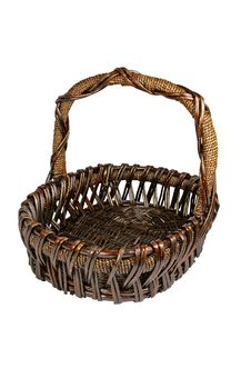 Free Multi-Purpose Wicker Basket Stock Photos - 507203