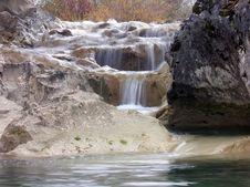 Free Baby Waterfall Royalty Free Stock Photo - 507205