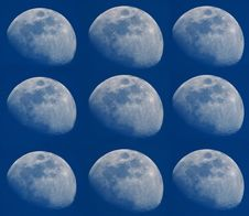 Free Many Moons Royalty Free Stock Photos - 507228