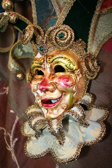 Free Venetian Mask 3 Stock Photo - 507420