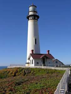 Free Pigeon Point Lighthouse Stock Photos - 507673