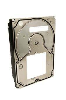 Generic Hard Disk Drive With Clipping Path Royalty Free Stock Image