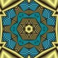 Free Aztec Treasure Mandala Royalty Free Stock Photos - 5003678