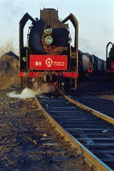 Free Steam Train Royalty Free Stock Photos - 5000638
