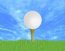 Free Golf Ball Stock Image - 5000851