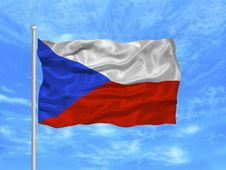 Free Czech Flag 1 Royalty Free Stock Image - 5000856