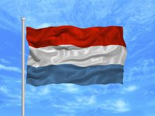 Free Luxembourg Flag 1 Royalty Free Stock Photos - 5000868