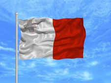 Free Malta Flag 1 Stock Photo - 5000870