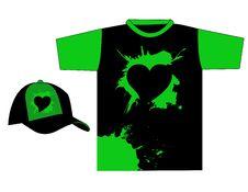Free Stylish T-shirt Design Royalty Free Stock Photography - 5000917