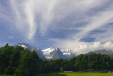 Free Mountain Landscape Royalty Free Stock Photo - 5001415