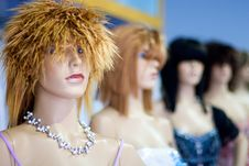 Free Mannequins Royalty Free Stock Photography - 5001567