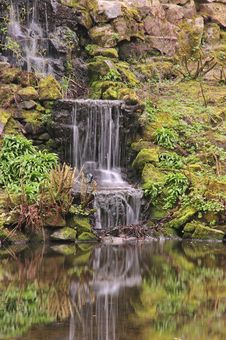 Waterfall And Pond Stock Photos
