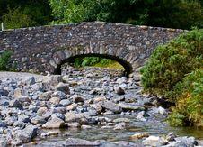 Free Bridge On Rocky Stream Stock Photos - 5001913