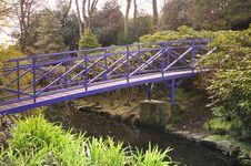 Free Blue Bridge Stock Photos - 5001953