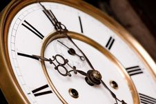 Free Old Clock. Stock Images - 5002034