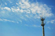 Free Telecommunication Mast Royalty Free Stock Photo - 5002295